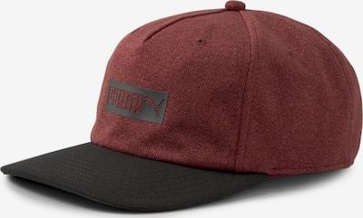 PUMA Sportpet in de kleur Wijnrood / Zwart, Productweergave