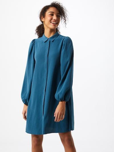 mbym Kleid 'Elli' in enzian, Modelansicht