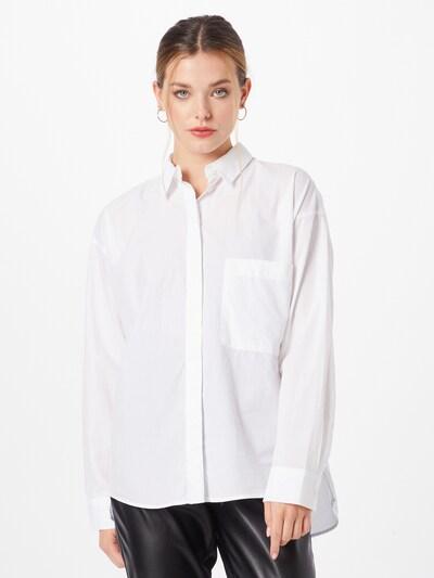 ESPRIT Bluse in weiß, Modelansicht