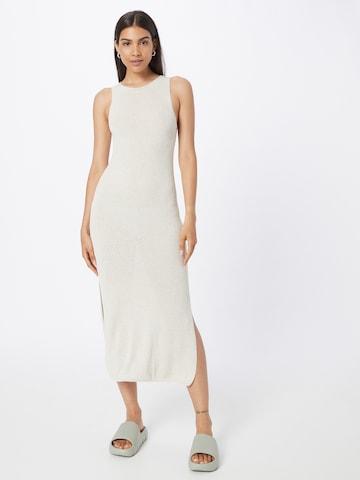 NU-IN Kootud kleit, värv valge
