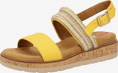 s.Oliver Sandalen in gelb, Produktansicht