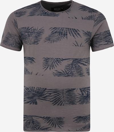 INDICODE JEANS T-Shirt 'Allen' in navy / dunkelgrau, Produktansicht