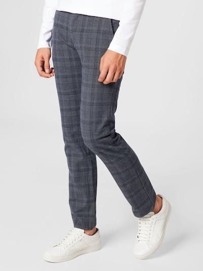 BOSS Casual Hose in dunkelblau / grau, Modelansicht