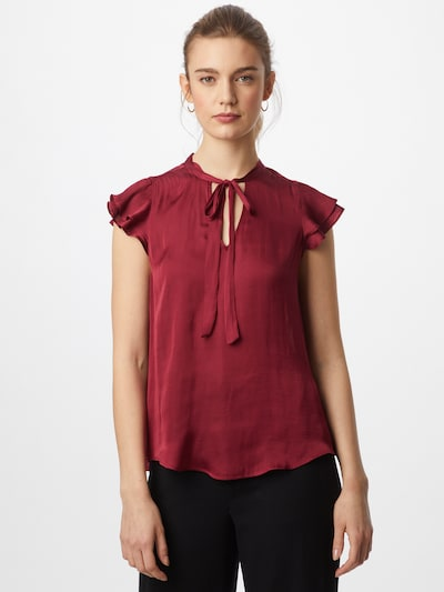 Banana Republic Bluse in bordeaux, Modelansicht