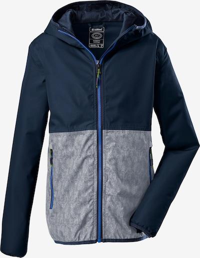 KILLTEC Outdoorová bunda 'Lyse' - námornícka modrá / sivá, Produkt