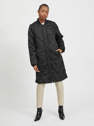 VILA Mantel 'Alana' in schwarz, Modelansicht