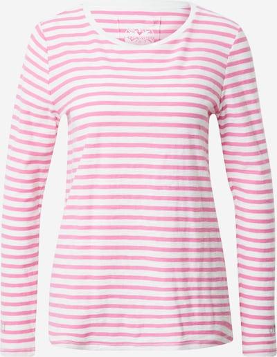 LIEBLINGSSTÜCK T-shirt 'Delia' en rose / blanc, Vue avec produit