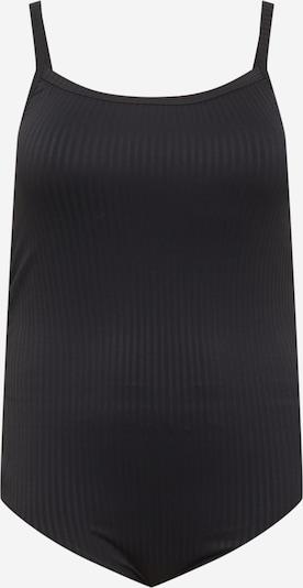 Cotton On Curve Shirtbody en noir, Vue avec produit
