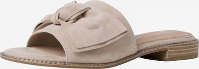 MARCO TOZZI by GUIDO MARIA KRETSCHMER Pantolette in beige, Produktansicht