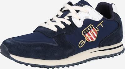 Sneaker low 'Beja' GANT pe albastru marin / auriu / roșu deschis / alb, Vizualizare produs