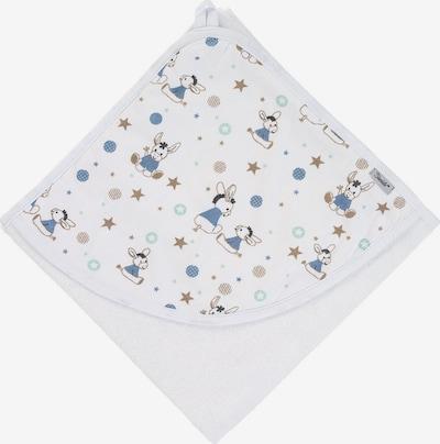 STERNTALER Handtuch in blau / gold / weiß, Produktansicht