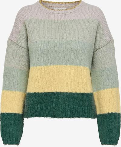 Megztinis 'Sonja' iš ONLY, spalva – turkio spalva / geltona / mėtų spalva / tamsiai žalia / purpurinė, Prekių apžvalga