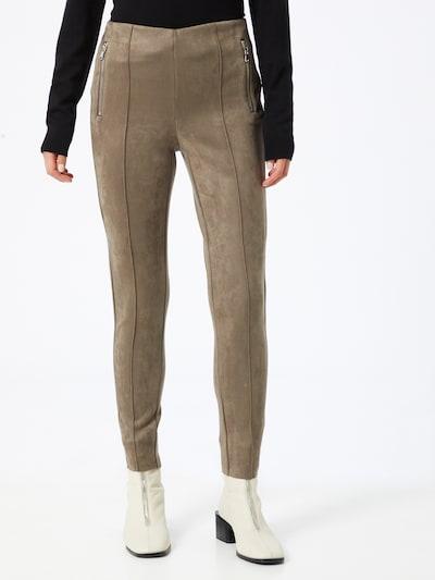 VERO MODA Leggings 'Cava' in hellbraun, Modelansicht