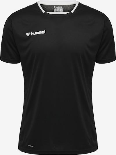 Hummel Trainingsshirt in grau / schwarz / weiß, Produktansicht