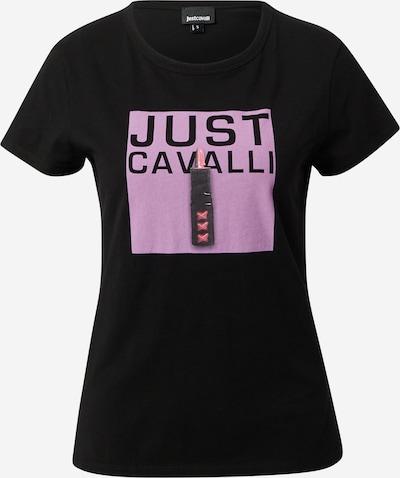 Just Cavalli Tričko - fialová / pink / černá, Produkt