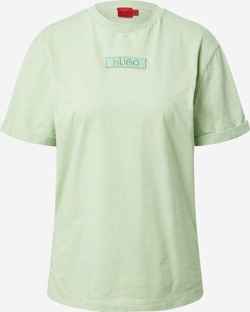Maglietta di HUGO in verde