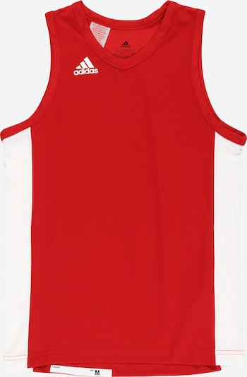 ADIDAS PERFORMANCE Funktionsshirt 'N3XT Prime Game' in rot / weiß: Frontalansicht