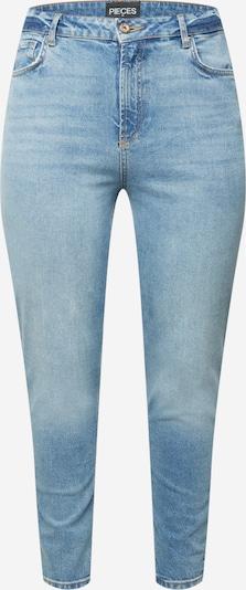 PIECES Curve Jeans 'LEAH' in blue denim, Produktansicht