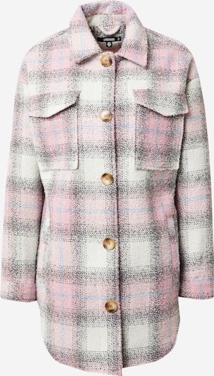 Missguided Between-season jacket in light blue / pink / white, Item view