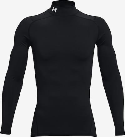 UNDER ARMOUR Base Layer 'ColdGear Armour' in schwarz / weiß, Produktansicht