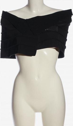 Heymann Cape in S in schwarz, Produktansicht