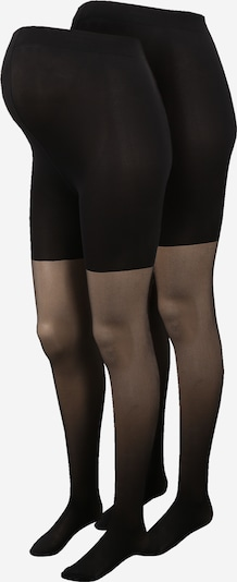 MAMALICIOUS Collants 'SABRINA' en noir, Vue avec produit