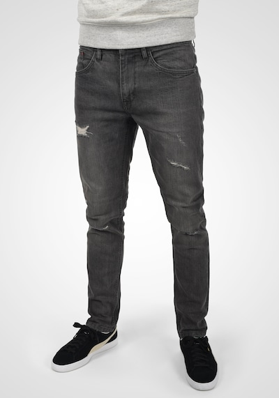 BLEND 5-Pocket-Jeans in grau / grey denim / dunkelgrau, Modelansicht