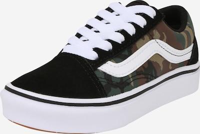 VANS Sneaker 'UY ComfyCush Old Sko (AUTISM AWRNES)' in dunkelgrün / schwarz / weiß, Produktansicht