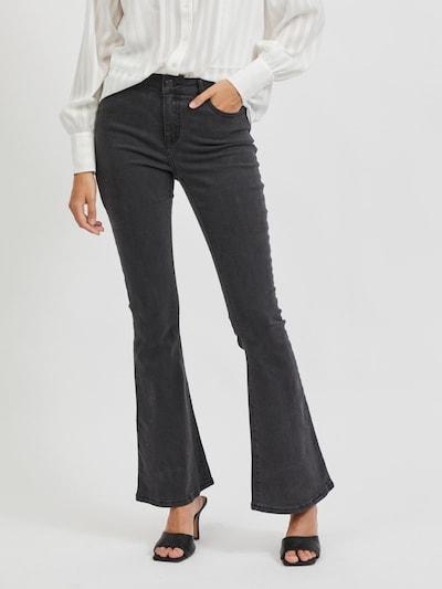 VILA Jeansy w kolorze czarny denimm, Podgląd na modelu(-ce)