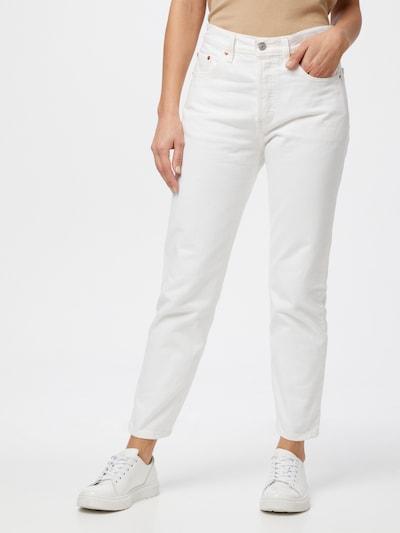 LEVI'S Jean en blanc denim, Vue avec modèle