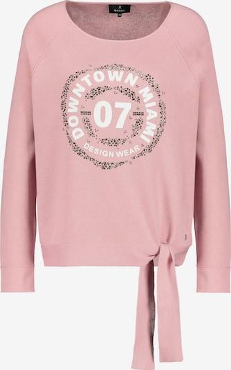 monari Pullover in rosa / weiß, Produktansicht