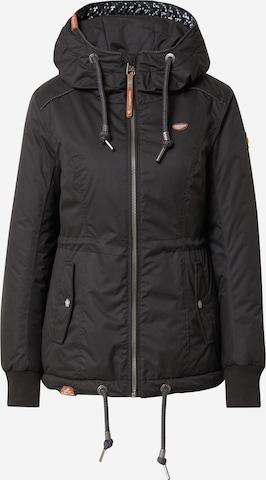 Ragwear Between-seasons parka 'DANKA' in Black