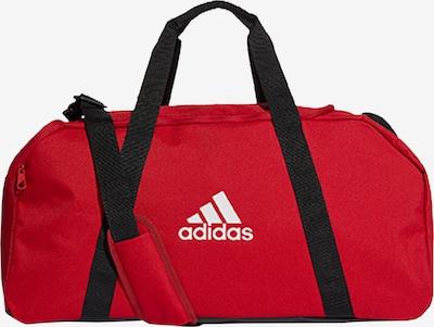 ADIDAS PERFORMANCE Sporttasche in blutrot / schwarz / weiß, Produktansicht
