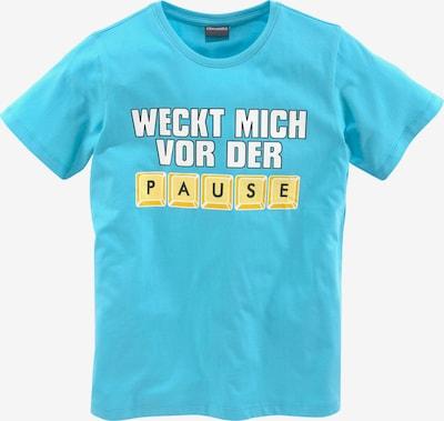 Kidsworld T-Shirt in blau / gelb / weiß, Produktansicht