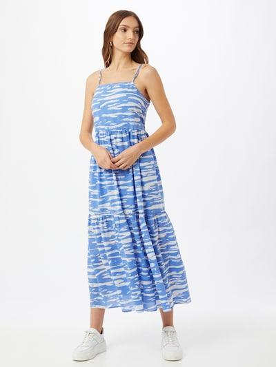 Marc O'Polo DENIM Kleid in blau / weiß, Modelansicht