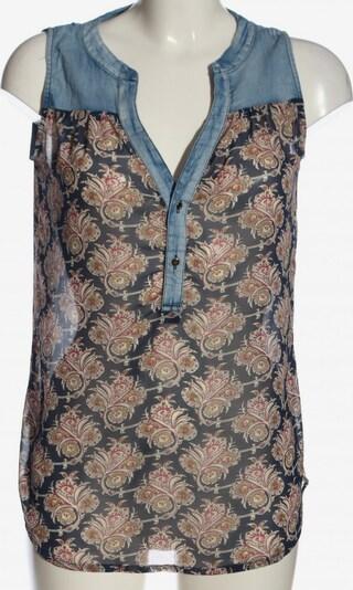 Best Emilie ärmellose Bluse in S in blau / rot / schwarz, Produktansicht