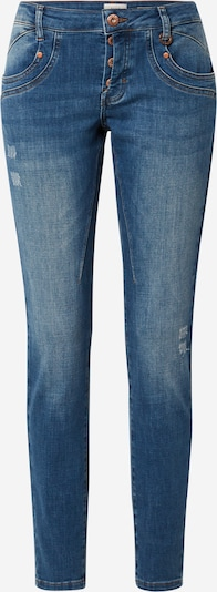 PULZ Jeans Jeans 'MARY' in blue denim: Frontalansicht