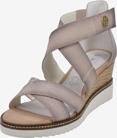 bugatti Sandale in beige, Produktansicht