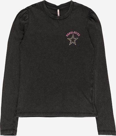 KIDS ONLY T-Shirt en or / rose / noir / blanc, Vue avec produit
