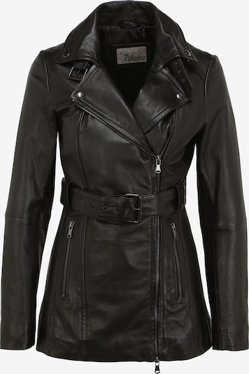7ELEVEN Lederjacke RENI in schwarz, Produktansicht