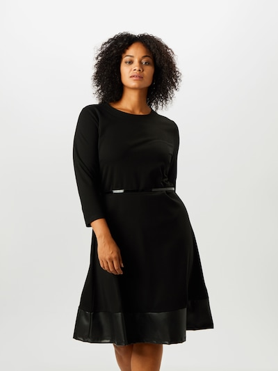 ABOUT YOU Curvy Kleid 'Farina' in schwarz, Modelansicht