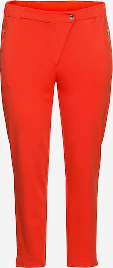 SHEEGO Pantalon en rouge orangé, Vue avec produit