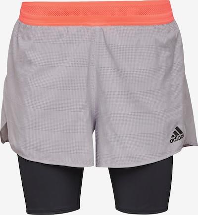 ADIDAS PERFORMANCE Pantalon de sport en gris / abricot / noir, Vue avec produit