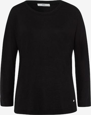 BRAX Shirt 'CHARLENE' in Black