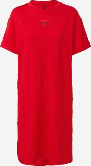 HUGO Chemise de nuit 'Neyle' en rouge feu / noir, Vue avec produit