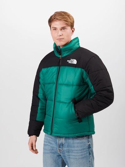 THE NORTH FACE Winterjas 'HIMALAYAN' in de kleur Groen / Zwart: Vooraanzicht
