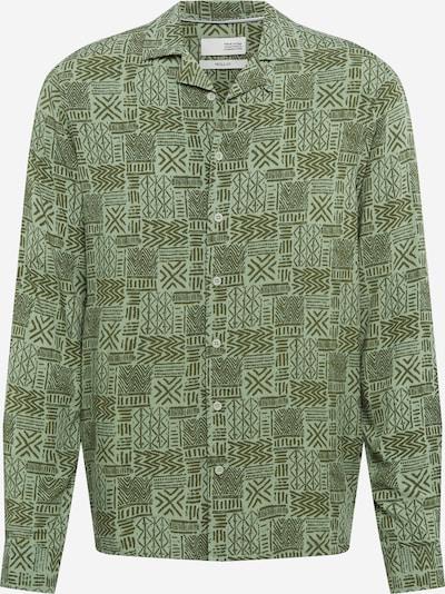 !Solid Hemd 'Phoe' in oliv / grasgrün, Produktansicht