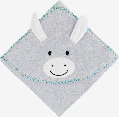 STERNTALER Handtuch in türkis / grau / weiß, Produktansicht