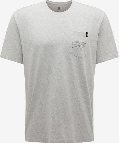 Haglöfs Shirt 'Mirth' in hellgrau / schwarz, Produktansicht
