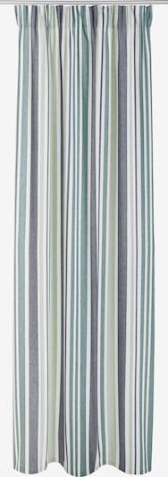 MY HOME Gardine in grün / pastellgrün / weiß, Produktansicht